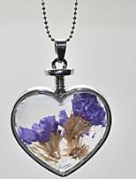 Femme Pendentif de collier Forme de Coeur Alliage Mode Le style mignon Bijoux Pour Mariage Soirée Anniversaire Quotidien