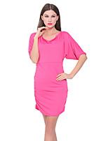 Costumes Vêtement de nuit Femme,Sexy Solide Nylon Spandex