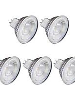 6W GU10 LED Spot Lampen MR16 1 COB 1 lm Warmes Weiß Kühles Weiß 6500 K 220 V