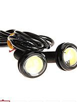 Super White 12V 1W LED Light Side Light Bulb for Motorcycle 2PCs