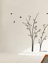 Palabras y Frases Romance De moda Pegatinas de pared Calcomanías de Aviones para Pared Calcomanías Decorativas de Pared Material