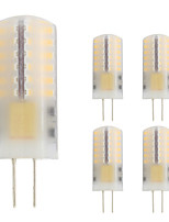 3W G4 LED Bi-pin Lights T 48 leds SMD 3014 Warm White 280lm 2800-3500K AC/DC 12V