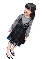 Girl's Casual/Daily Solid DressCotton Rayon Summer Sleeveless set