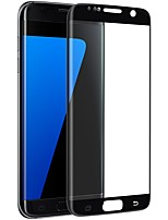 XIMALONG Screem Protecto For Galaxy S7 Edge  Tempered Glass High Definition 2.5D Curved edge Explosion Proof Anti-scratch Front Screen Protector