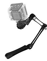 Asj gopro ero fotocamera accessori lega di alluminio fold handsheld selfie stick