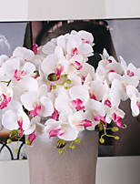 5 Branch Silk Butterfly Orchid Wedding Decoration Artificial Flowers