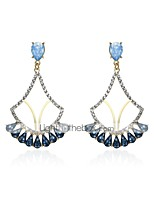 MISSING U Women's Drop Earrings Vintage Bohemian Gold Plated Zircon Alloy Jewelry For Gift Daily Casual Holiday Going out