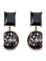Per donna Orecchini a goccia Gioielli Geometrico stile sveglio Di tendenza Vintage stile della Boemia Cristallo Di forma geometrica