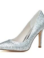 Da donna scarpe da sposa Decolleté Primavera Estate Brillantini Paillette Matrimonio Serata e festa A stiletto Oro Argento 7,5 - 9,5 cm