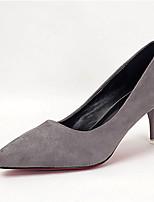 Femme Chaussures à Talons Escarpin Basique Eté Cachemire Habillé Talon Aiguille Noir Gris Rouge Rose dragée clair Bleu royal 7,5 à 9,5 cm