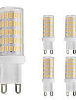 3W G9 LED Bi-pin Lights T 86 leds SMD 4014 Warm White Cold White 280lm 2800-3500;5000-6500K AC 220-240V
