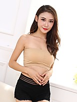 Women Tube Tops Seamless Wrapped Chest underwear bandeau bra thin belt