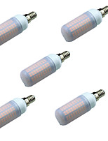 5W E14 LED Bi-pin Lights T 180 SMD 2835 700 lm Warm White Cold White 3000-7000 K Decorative AC220 V