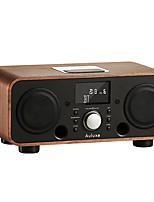 AW3021 Rádio Relogio Despertador Player MP3 Despertador Bluetooth Preto Marron Rosa claro