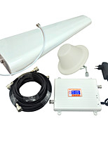 4G LTE FDD 2600MHz 3G W-CDMA UMTS 2100MHz Mobile Phone Signal Booster 3G 4G Signal Repeater Amplifier with Log Periodic Antenna / Ceiling Antenna