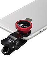 JiangSenYuan Smartphone Camera Lenses  0.65X Wide Angle Lens Macro Lens Fish-eye Lens for ipad iphone Huawei xiaomi samsung