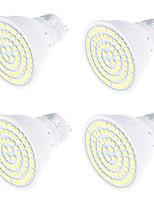 4W GU10 LED Spot Lampen MR16 80 SMD 2835 320 lm Warmes Weiß Kühles Weiß 3000/6000 K Dekorativ V