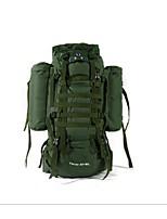 65+10 L Backpacks Hiking Waterproof Zipper Low-friction Mesh