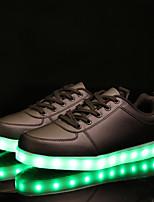 Damen Sneaker Leuchtende LED-Schuhe Komfort Leuchtende Sohlen Künstliche Mikrofaser Polyurethan Frühling Herbst Normal Party & Festivität