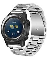 economico -Per la vigilanza di huawei 2 orologi classici della vigilanza dell'inarcamento del metallo della vigilanza di 20mm di acciaio inossidabile