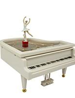 Music Box Toys Piano Plastics Pieces Unisex Birthday Gift