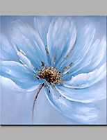 Big Size Hand-Painted Flowers Modern Art One Panel Canvas Oil Painting for Home Decoration Unframed