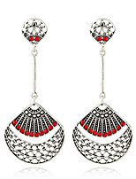 Women's Earrings Set Basic Tassel Geometric Metallic Rhinestone Alloy Jewelry For Party Gift Evening Party Date Club