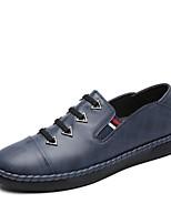 Homme Mocassins et Chaussons+D6148 Confort Moccasin Semelles Légères Chaussures de plongée Automne Hiver Vrai cuir Cuir Polyuréthane