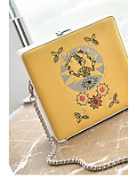 Women Bags All Seasons PU Shoulder Bag for Casual Blue White Red Yellow