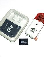 8gb microsdhc tf scheda di memoria con lettore di schede usb e adattatore sdhc sd