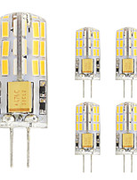 2W G4 LED Bi-pin Lights T 48 leds SMD 4014 Warm White Cold White 180lm 2800-3500;5000-6500K AC/DC 12V