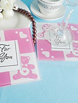 2pcs/Set Baby Glass Photo Coasters Shanghai Beter Gifts® Back To School Party Favors