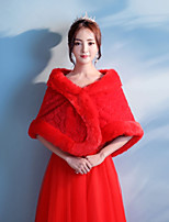 Women's Wrap Capelets Faux Fur Wedding Party/ Evening
