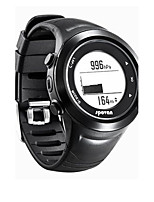 Men's Sport Watch Digital Rubber Band Black
