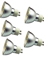 3W GU10 LED Spotlight 30 SMD 5050 280 lm Warm White Cold White 3000-7000 K Decorative AC 12 V