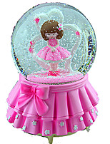 Balls Music Box Toys Round ABS Pieces Female Girls' Birthday Gift