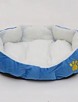 Dog Bed Pet Mats & Pads Brown Blue Blushing Pink