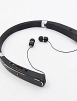 Hbs-992 nella cuffia senza fili delle cuffie del collo dell'orecchio sport ibrido di plastica&Isolamento acustico auricolari a