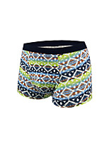 Homme Rayures Boxers-Coton