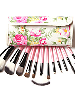 12 pcs Makeup Brushes Professional Synthetic Cosmetic Makeup Brush Foundation Eyeshadow Eyeliner Brushing Brush Kits
