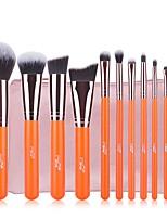 Bürsten-Satz- Künstliches Haar Einfach zu tragen Aluminium HolzHerren Unisex Auge Alltag Augen Lippen Augenwimpern Lippe Allgemeine