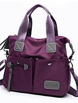 Women Bags All Seasons Nylon Tote for Event/Party Casual Formal Outdoor Office & Career Blue Black Purple Fuchsia