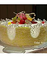 Large Silicone Lace Flower Mat Embossed Cake Mold Sugarcraft Decoration Tools