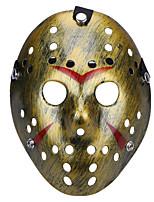 Urlaubsrequisiten Urlaubszubehör Dekoration Praktische Witzsachen Halloween-Masken Haloween Figuren Masken Spielzeuge Neuheit Oval 3D