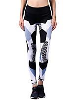 Yogabukser Tights Underdele Strækkende Naturlig Strækkende Sportstøj Dame BARBOK Yoga Løbe Pilates Dans