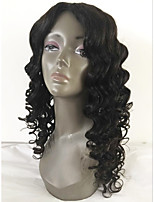 Parrucche piene incollate del merletto dei capelli brasiliani di vendita caldi con i capelli del bambino 8-26 pollice le parrucche dei