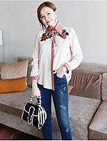Camicia Da donna Casual Semplice Con stampe Colletto alla coreana Altro Manica lunga