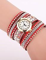 XU Women's Luxurious Elegant Personality Diamond Quartz Bracelet Watch