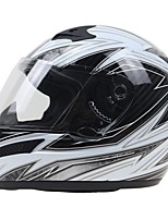 Full Face Fastness Map Easy Lock System ABS Motorcycle Helmets