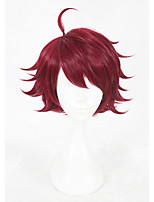 14inch Short Red A3 Sakuya Sakuma Wig Synthetic Anime Hair Cosplay Wigs CS-336A